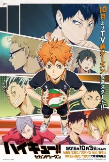 Info Haikyuu!! Second Season || OMG!! HQ is HERE! everybody!! Ep 1 of season 2 is here with eng sub! I shredded into tears after watching this, so happy that Kageyama and Hinata still has a flare in their eyes!! \([])/ YOSH! EPISODE 2 I'll be waiting for u!