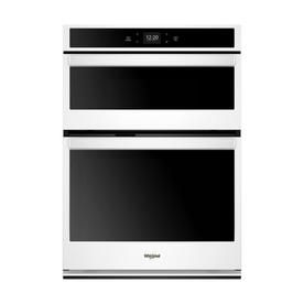 Whirlpool Self Cleaning And Microwave Wall Oven Combo White