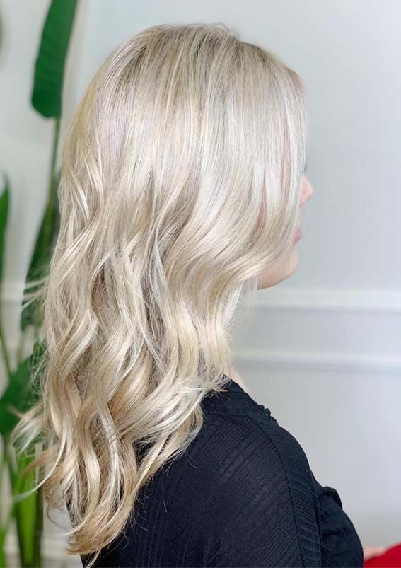 Unique Blonde Hair Color Shades Baby Lights For 2019 Hair