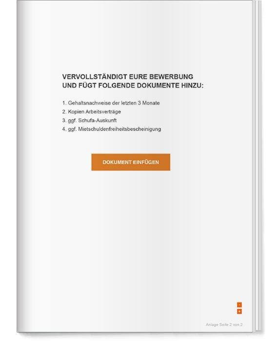 Get A Flat Wohnungsbewerbung Fur Paare Bewerbung Bewerbung Anschreiben Vorlage Anschreiben