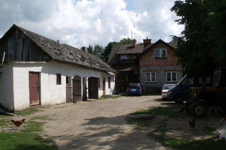 Podwórko wiejskie