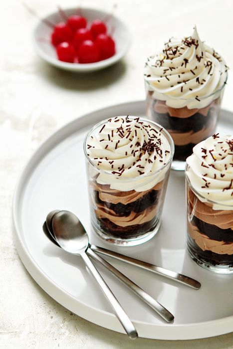 Nutella Cheesecake Trifles