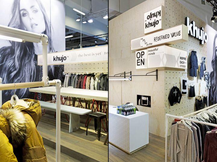 Khujo Booth At Panorama Berlin 2016 By Werkstatt65 Germany Retail Design Blog