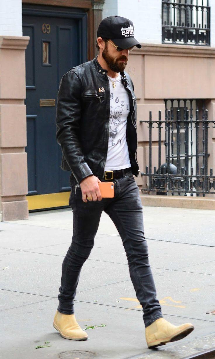 312 Best Images About Black Leather Biker Jacket On