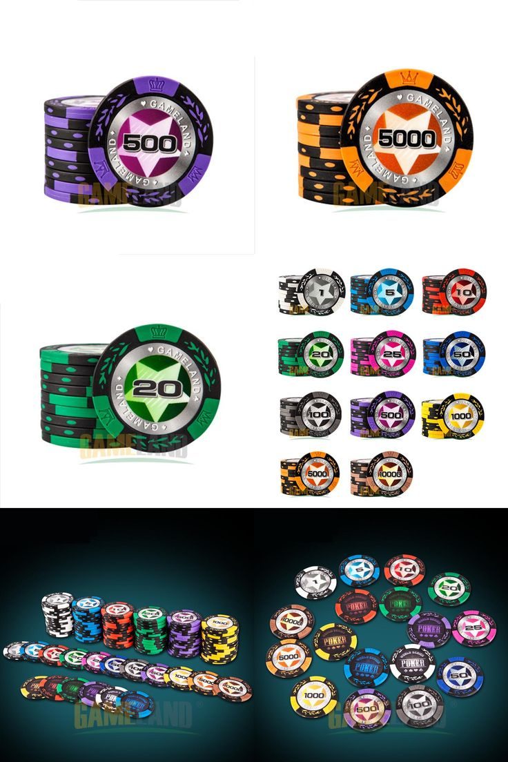 [Visit to Buy] Poker Chips 14g Clay Casino Coins Texas Hold'em Clay Poker Chips Baccarat Upscale Set Pokerstars Fichas de poker card protector  #Advertisement