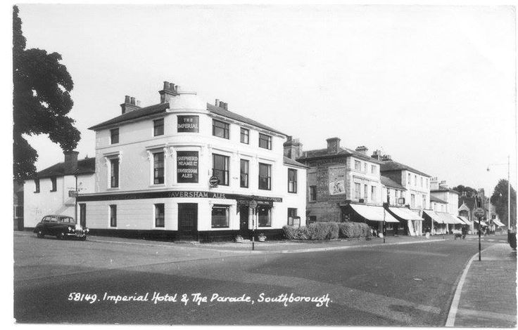 Undated picture of the Imperial Hotel, Southborough.
