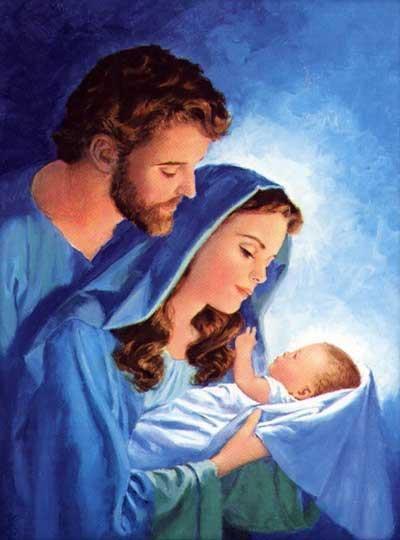 Jesus mary and joseph baby jesus pinterest