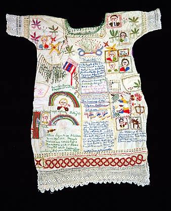 embroidered garment  ca. 1949  Alice Eugenia Ligon