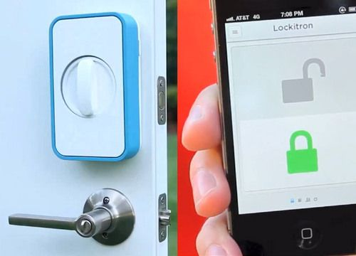 Lockitron  - Keyless entry using your smartphone