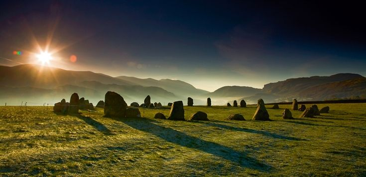 Castlerigg Stone Circle. Lake District, Cumbria England. Used to love to visit this place. LF