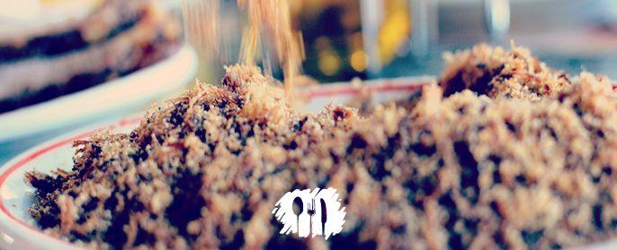 Vamos relembrar esta receita de paçoca de carne seca do restaurante Gibão http://fabiolenza.com.br/?p=1967