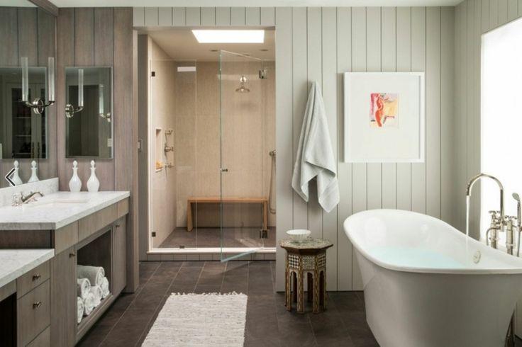 carrelage de douche italienne : idée de salle de bain