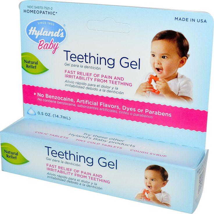 Hyland's, Baby, Teething Gel, 0.5 oz (14.7 ml) - iHerb.com