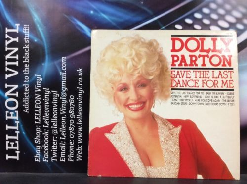 Dolly Parton Save The Last Dance For Me LP CDS1225 Country & Western 80's Music:Records:Albums/ LPs:Country