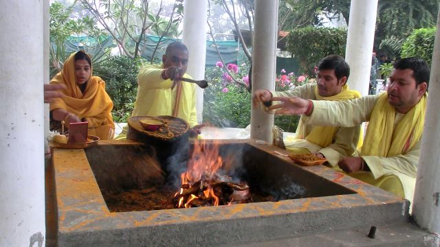 Yagna by Astrodevam is the powerful remedy for spreading positive karma for the future. Yagna or Anushthan is basically performed for reorganizing the vibrations of someone's energy, aura and life.