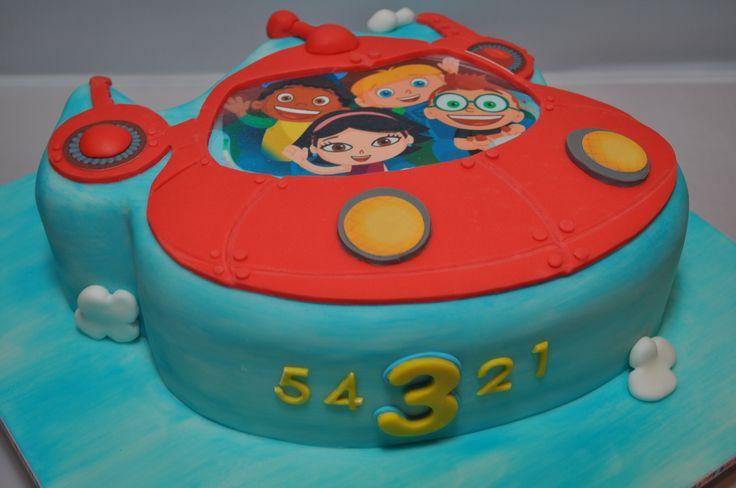 2-D Little Einsteins Rocket cake