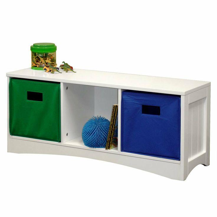 Riverridge Kids Storage Bench White For Sam Pinterest