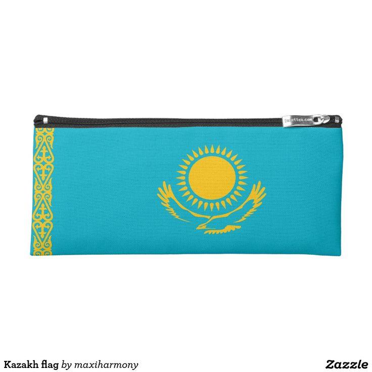 Kazakh flag pencil case