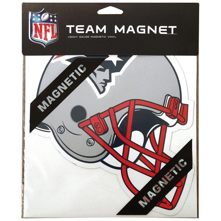 "MGNE06 8"" Magnet New England Patriots Helmet"