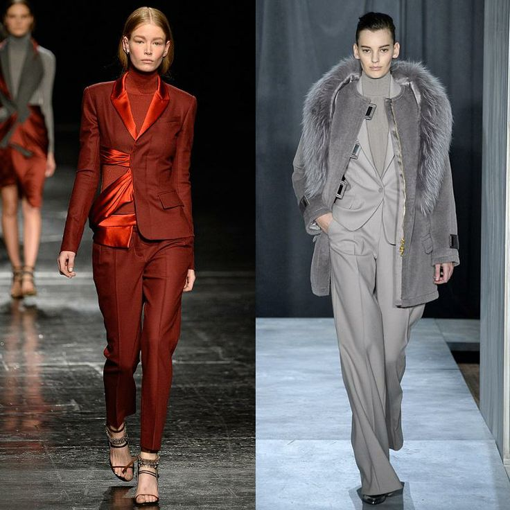 How To Look Glamorous In A Suit