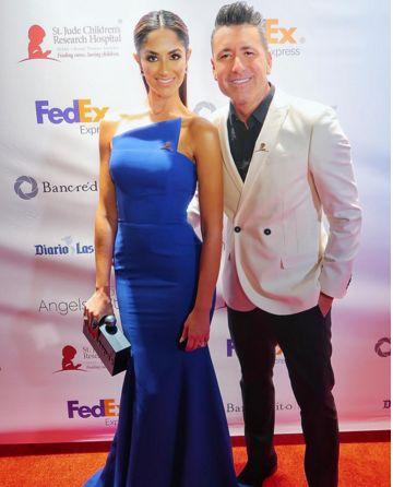 Jorge Bernal y su esposa, Karla Birbragher, lucieron muy elegantes en esta gala, durante la que se recaudaron fondos para el Hospital St. Jude.