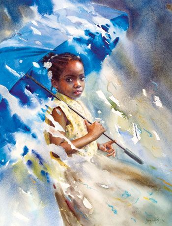 Mary Whyte--American watercolor artist that everyone should know about!