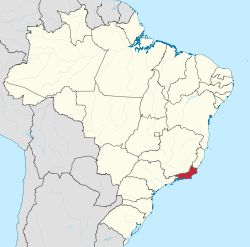 Estado do Rio de Janeiro.