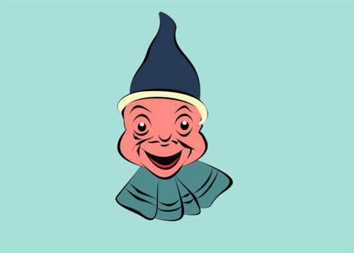 happy human face, background, bar, blue, cartoon, character, cheerful, color, colorful, cute, day, design, face, green, happy, hat, head, human