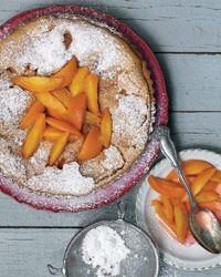 Double-Peach Tart Recipe on Food & Wine