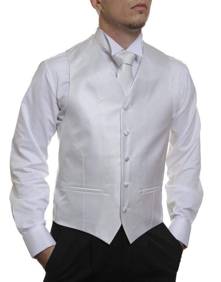 White Stripe #Australia made #AU #Groom #Dinner #Vest #Fashion #Clothing #Beautiful #Wedding