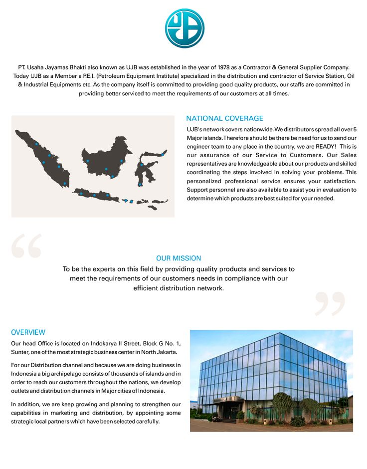 About Usaha Jayamas Bhakti :: Indonesia leading distributor of Mechanical and Electrical Equipments in Oil & Gas field