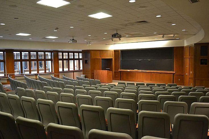 Explore the Boston College Campus in This Photo Tour: Boston College Lecture Room