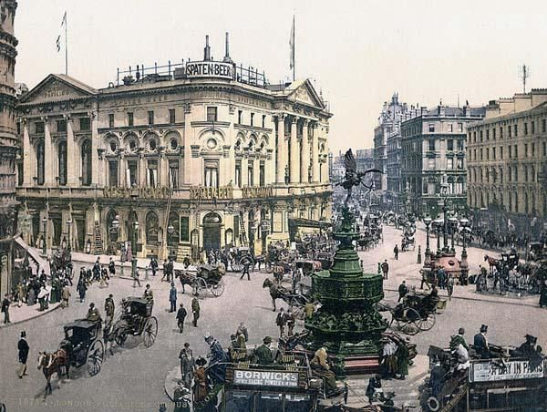 Piccadilly Circus, London, EnglandVintage Postcards, Libraries Of Congress, Old London, Piccadilly Circus, Palaces, Victorian London, Old Pictures, Architecture, London England