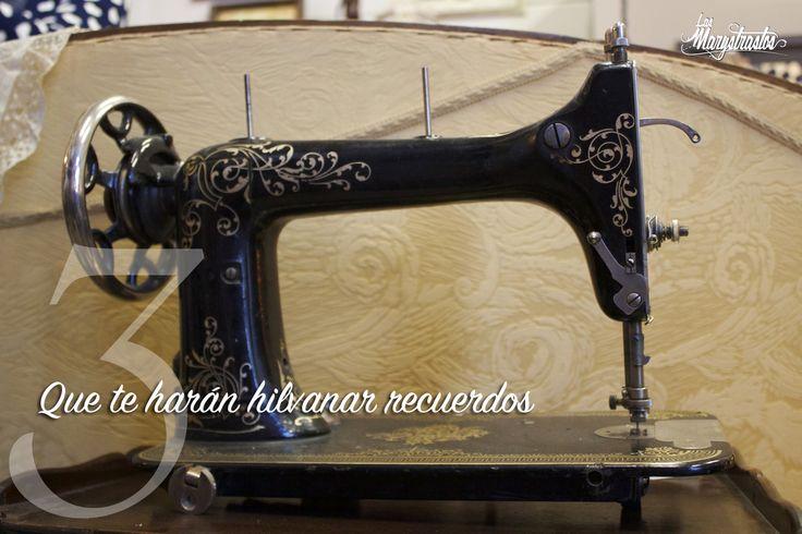 M quina de coser antigua tienda las marystrastos objetos - Decoracion segunda mano ...