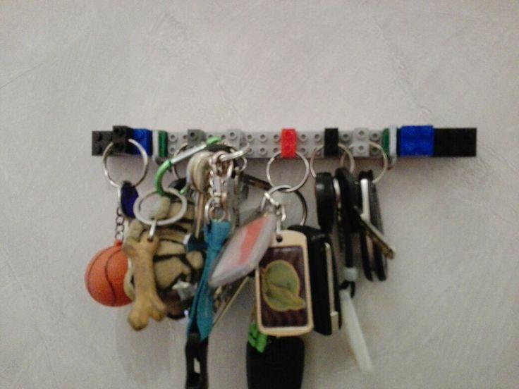 Lego sleutels hanger