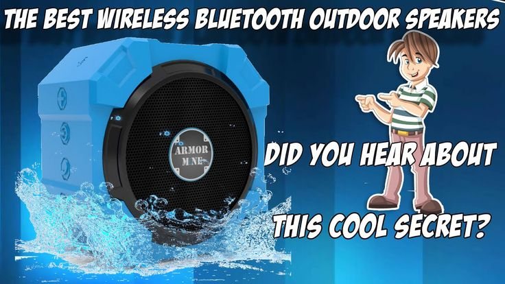 You'll Love These Wireless Bluetooth Outdoor Speakers http://youtu.be/1FcNWU3JrqU