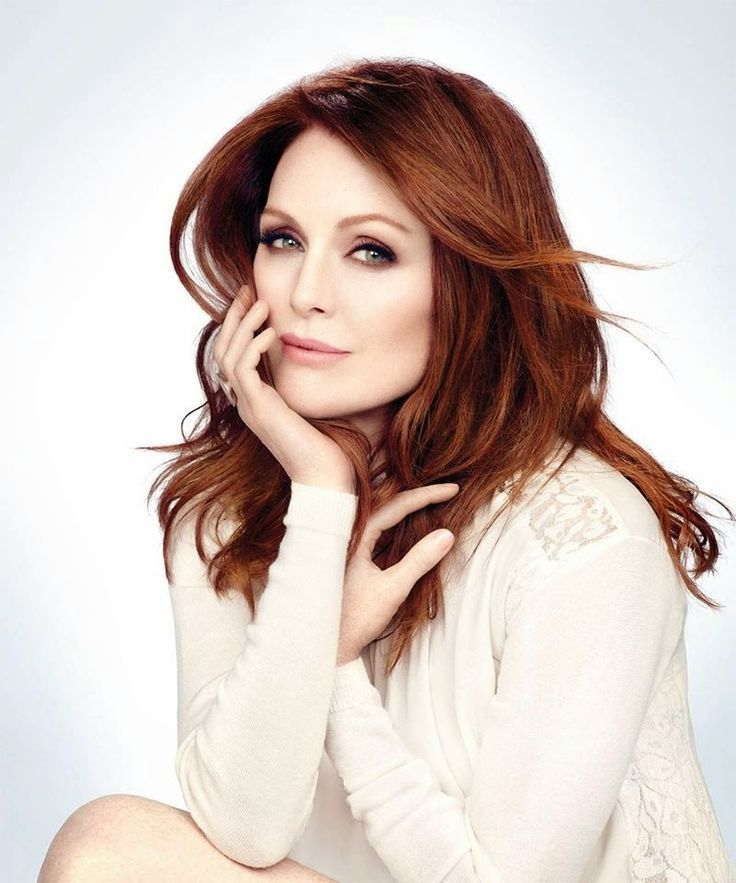 Julianne Moore, photographed by James White for NewBeauty, F/W 2014.