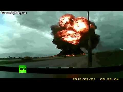 Boeing 747 crash at Bagram Airfield caught on tape anything can happen at anytime are you prepared?