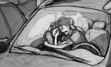 </3 <3 this Dad's Heartbreaking Sketch Illustrating the Pain of Miscarriage | Huffington Post