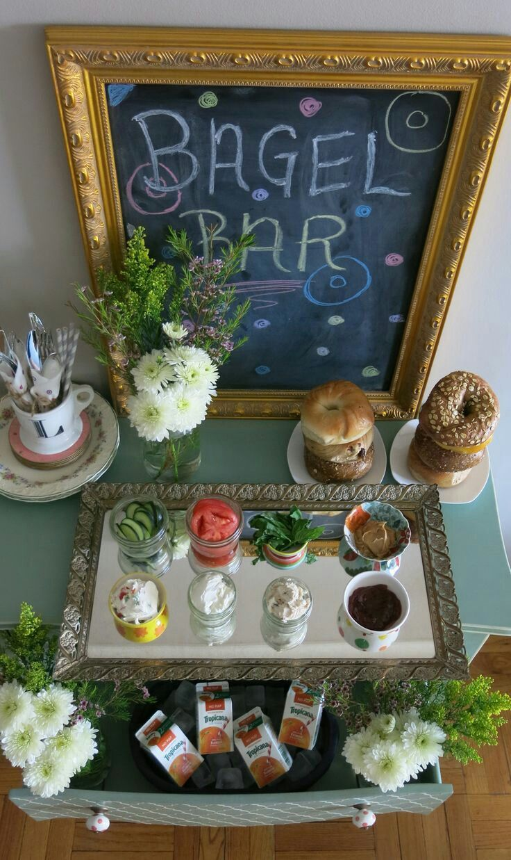 Bagel Bar, what a unique idea!