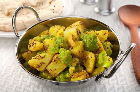 Aloo Gobi (Cauliflower and Potato) recipe:    Shop organic ingredients for your recipes at www.farm2kitchen.com. Free home delivery in India.