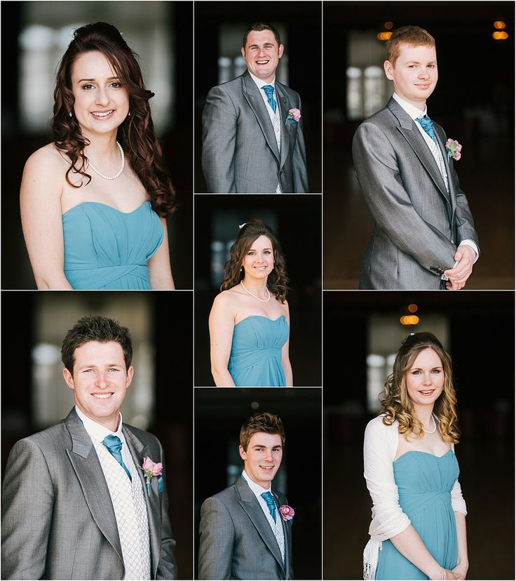 Bridal party at a Wedding at the Atlantic Hotel in Newquay