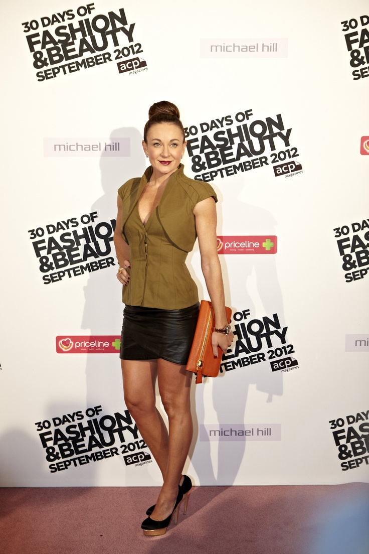 Hot to trot - Michelle Bridges at 30 Days of Fashion & Beauty launch night