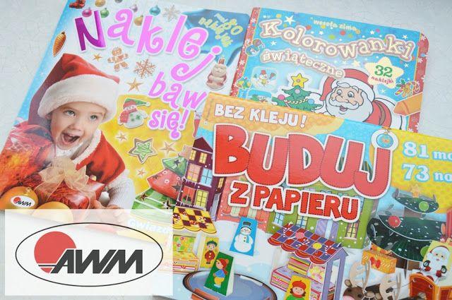 Kiedy mama nie śpi: Zimowe i świąteczne książki dla dzieci - Zestawy kreatywne od wyd. AWM.