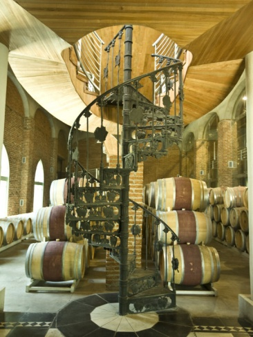 Best Spiral Staircase And Barrels At A Winery In The Casablanca 400 x 300