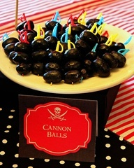 Pirate Food: cannon balls
