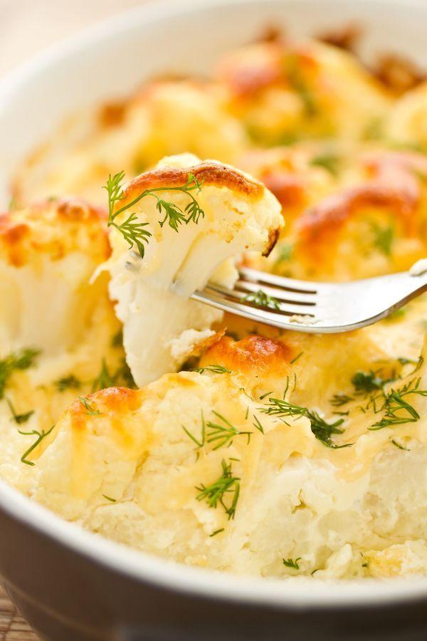 Easy Breakfast Bake: Hearty Cauliflower And Egg Casserole
