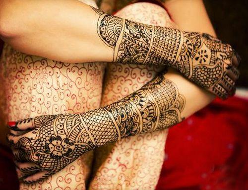 Arabic Full Hand Mehndi Designs