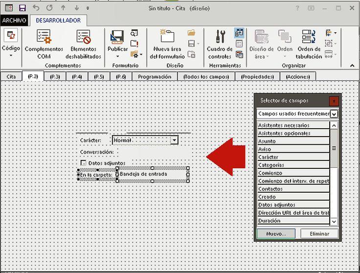 Diseñar formularios