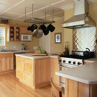 40 gorgeous kitchen ideas you 39 ll want to steal cook in for Good housekeeping kitchen designs
